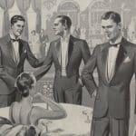 Gentlemannen av år 1924 och 1926 enligt SvD