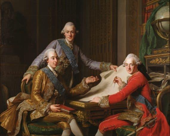 Gustav III och hans bröder
