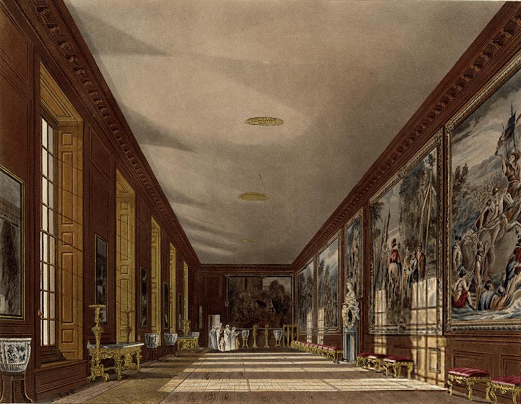 Hampton court palace ball room