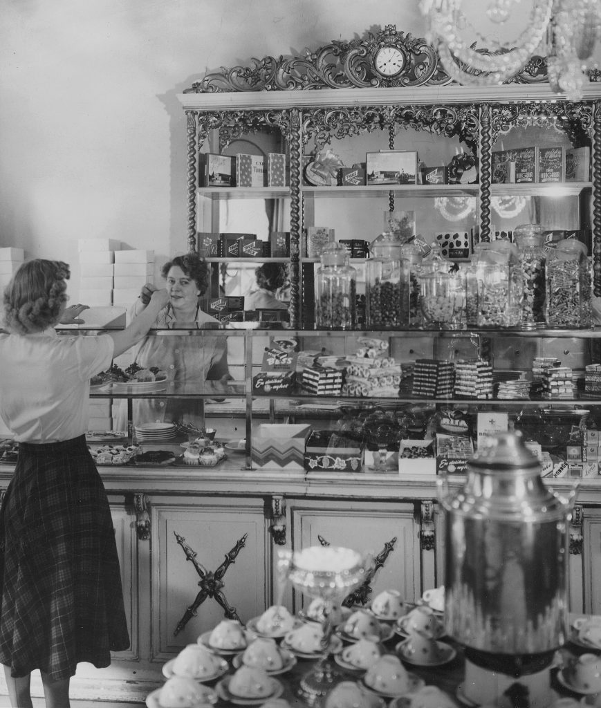 sundbergs konditori 1950-talet