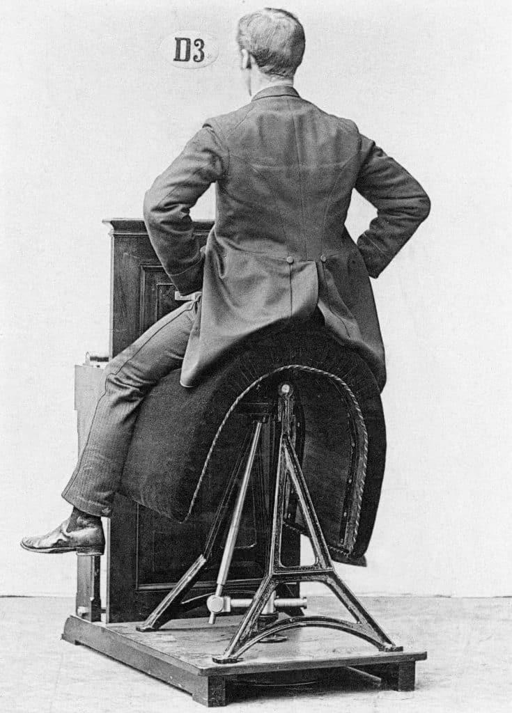 gymmaskin bålrullning 1900