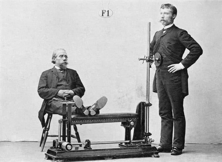 gamla gymmaskiner 1800-tal
