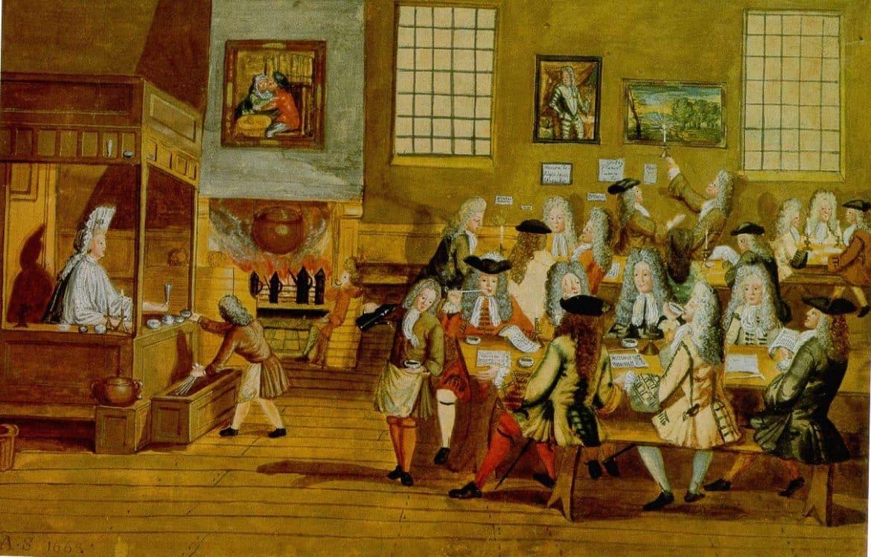 kaffehus från London under 1600-talet