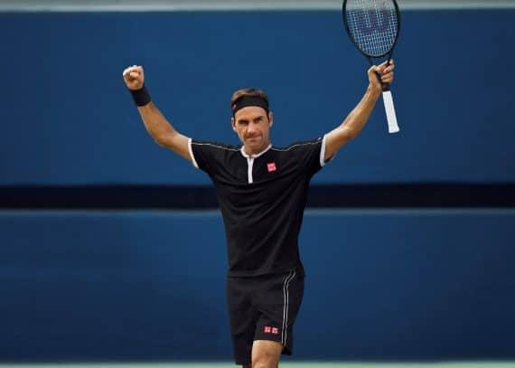 roger Federer Uniqlo