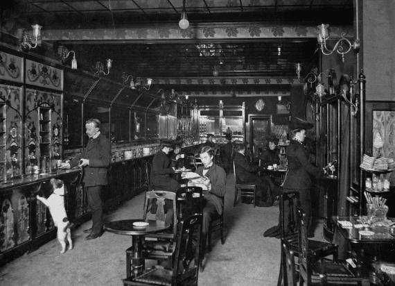 automatrestaurang i stockholm i början av 1900-talet