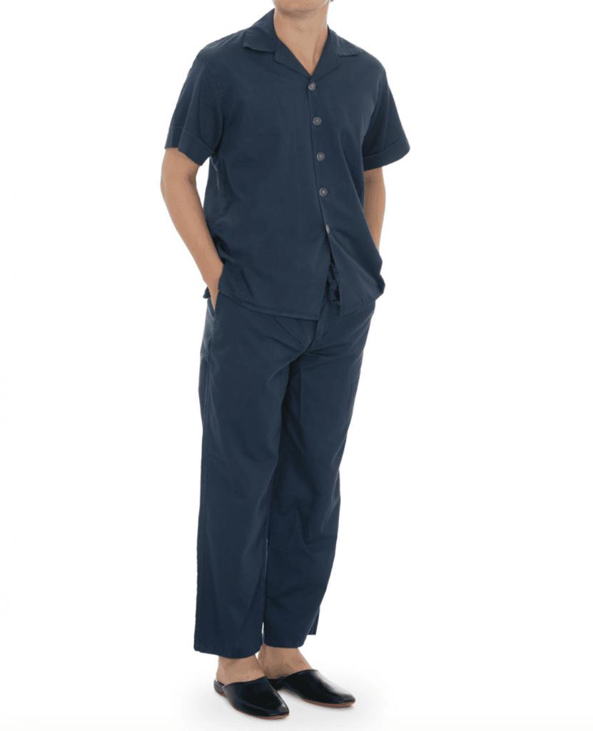 pyjamas i vintage still herrmode höst vinter 2020