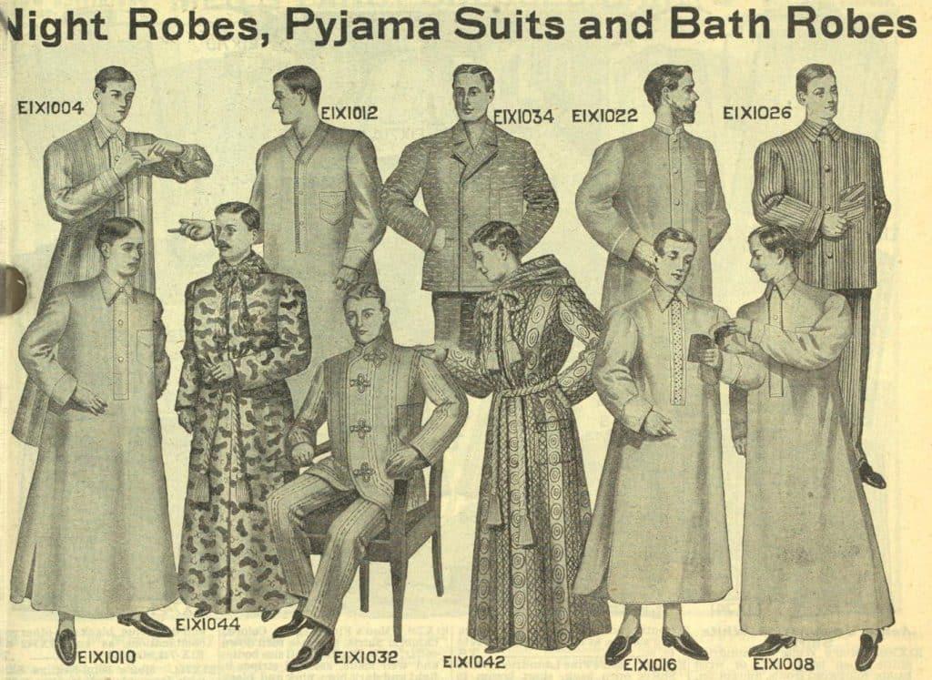 nattskjortor för män