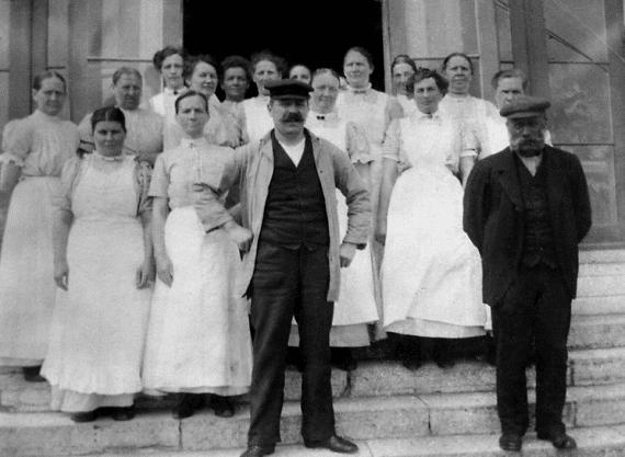 baderska som yrke tidigt 1900-tall