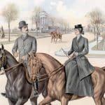 Belefvenhet på promenad till häst