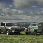 Ikonen Land Rover Defender är tillbaka