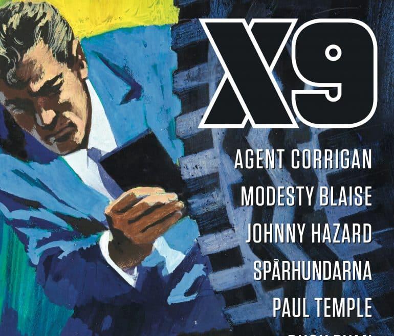 agent x9 50 år