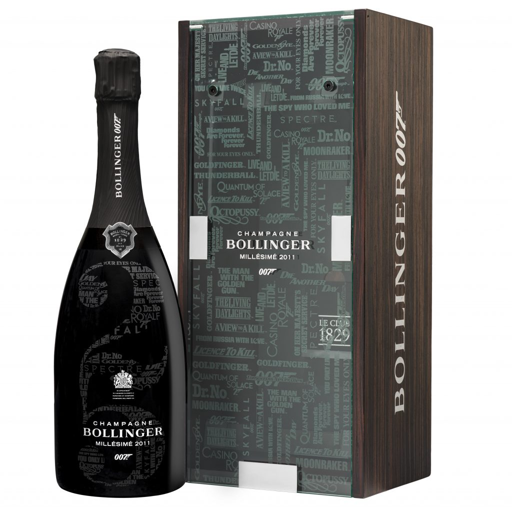 Bollinger james bond 007 champagne