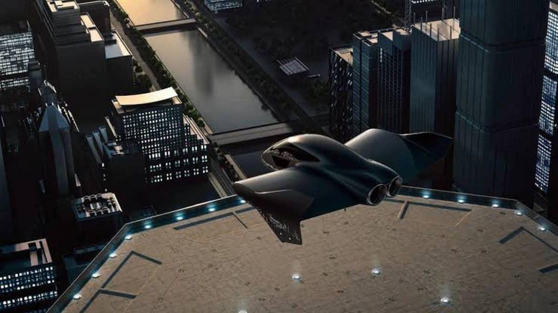 flygande bil från porsche boeing