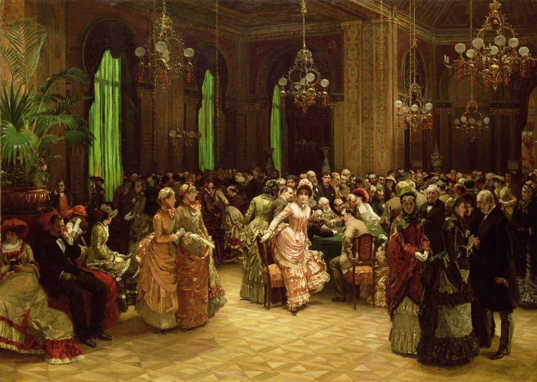 Casino Monte Carlo year 1884