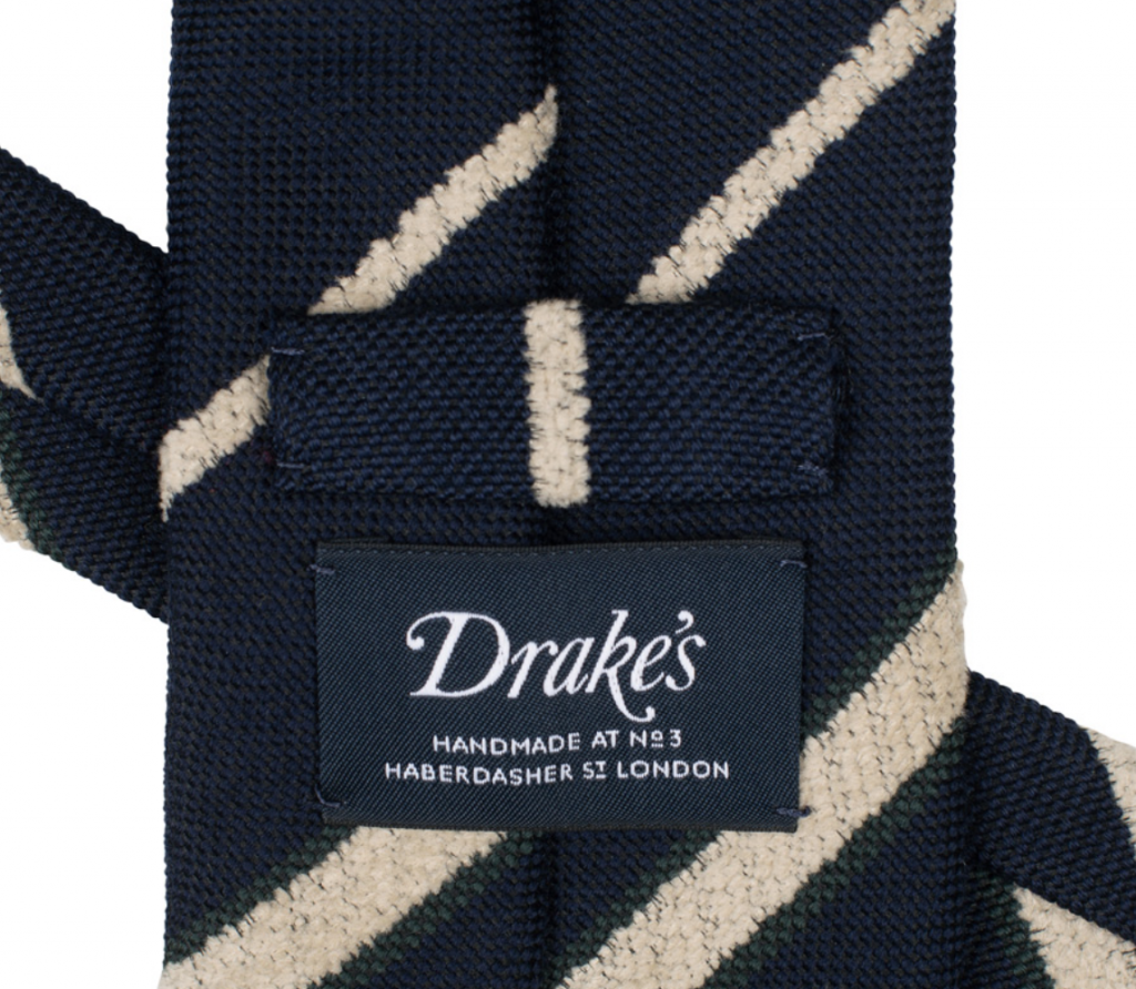 handgjorda slipsar brittiska märken