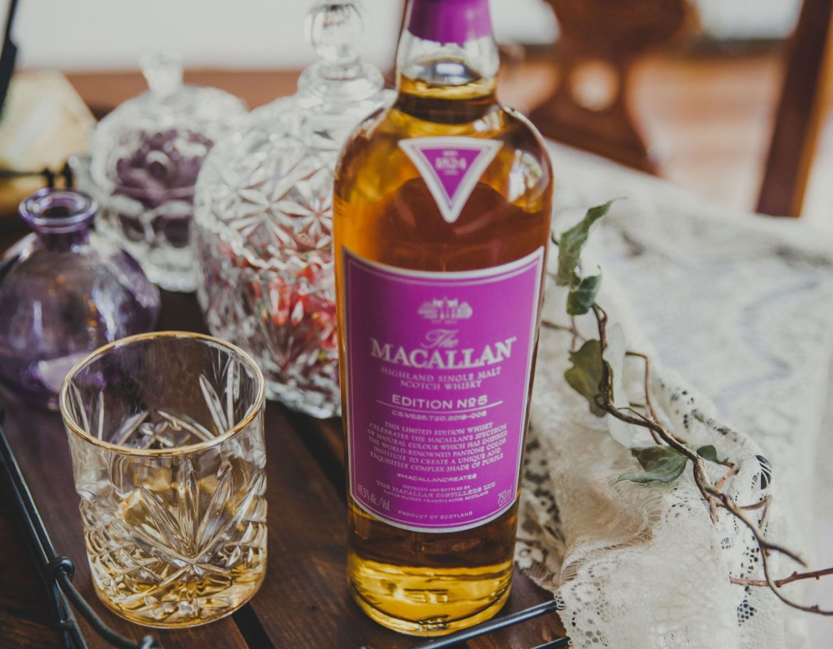 the macallan no. 5 ny whisky