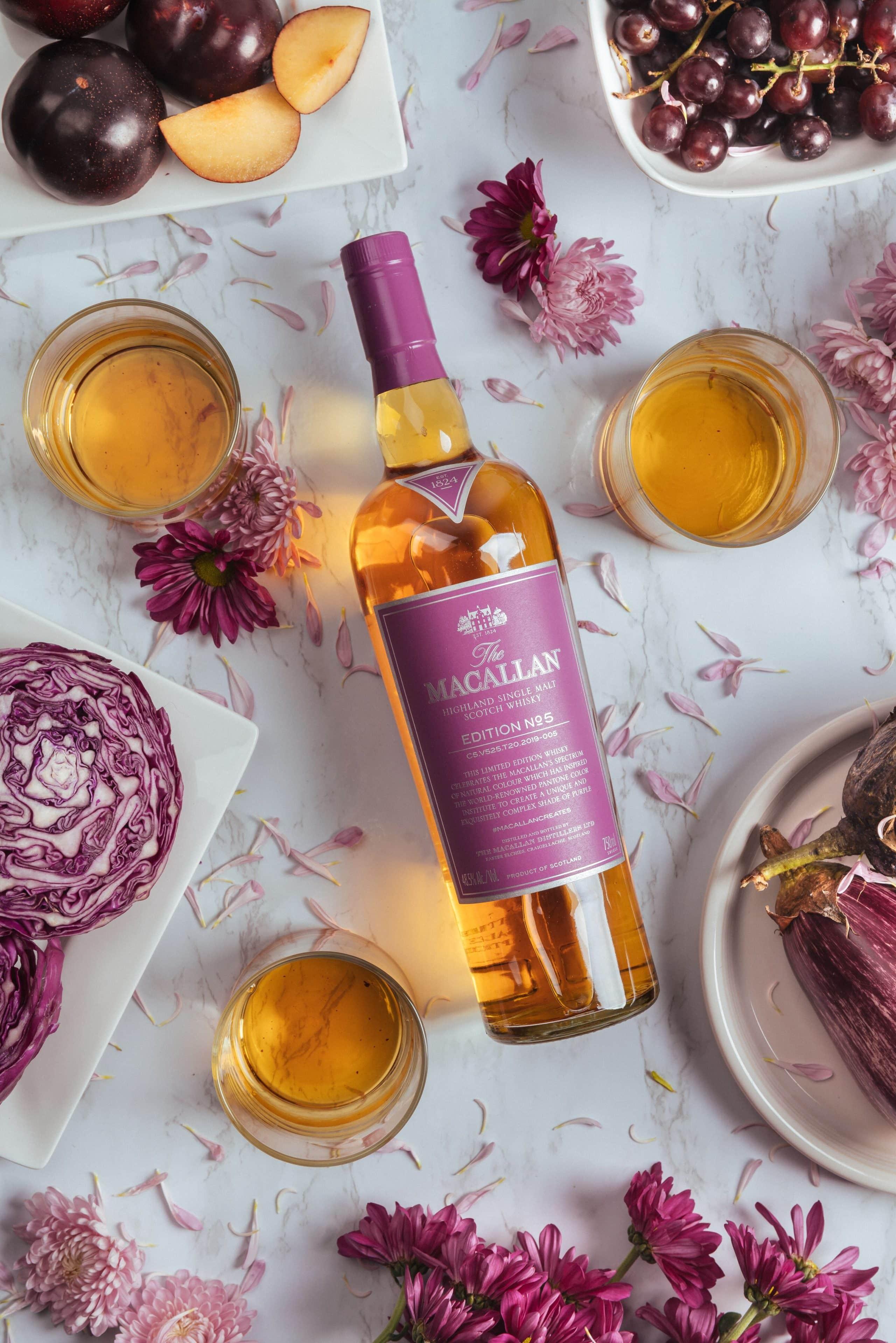 The Macallan edition no.5 ny whisky November 2019