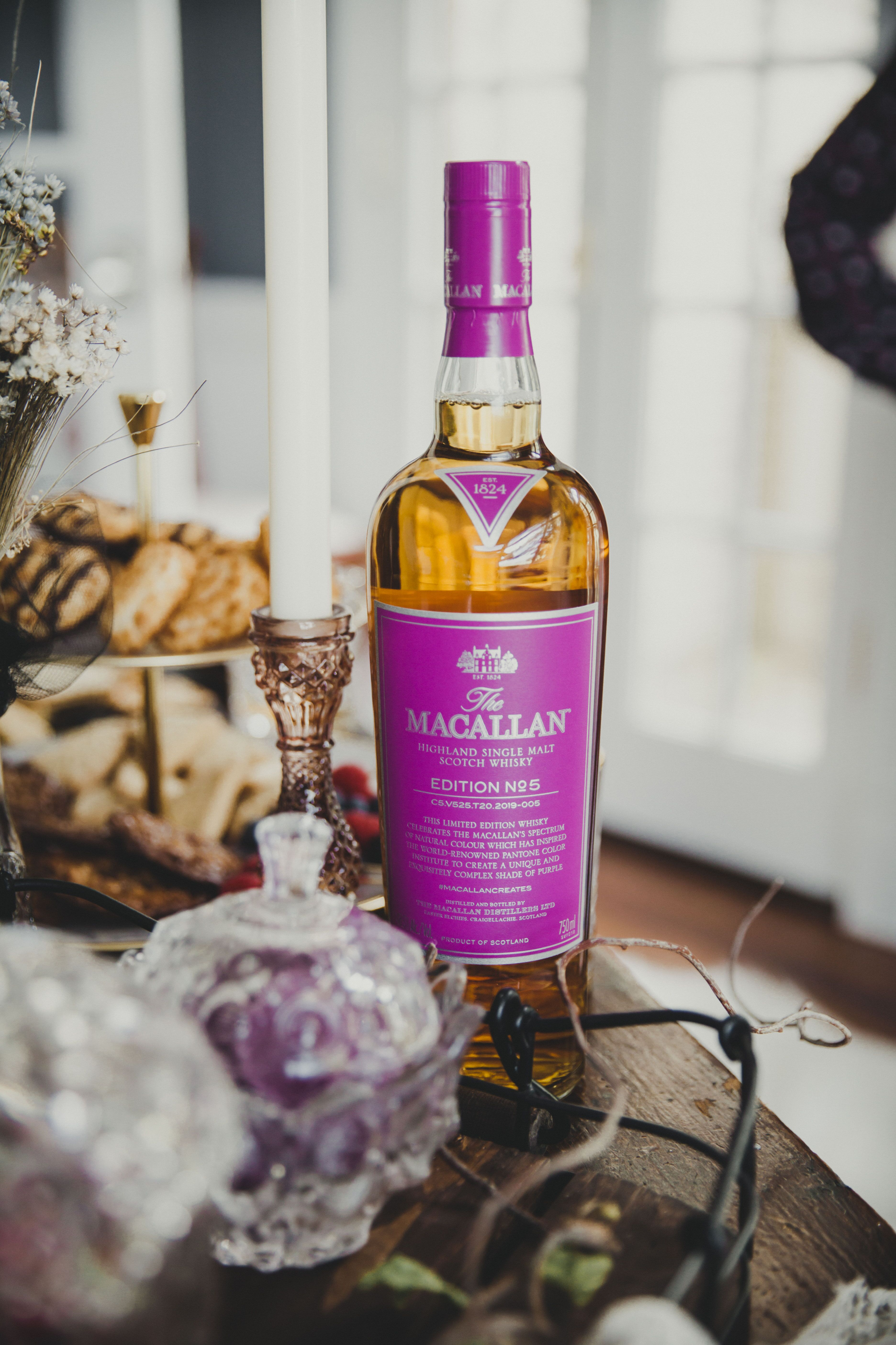The Macallan edition no.5 whisky