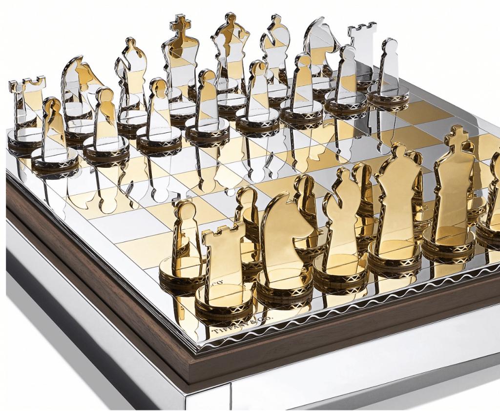 Tiffany & Co för män schackbräda