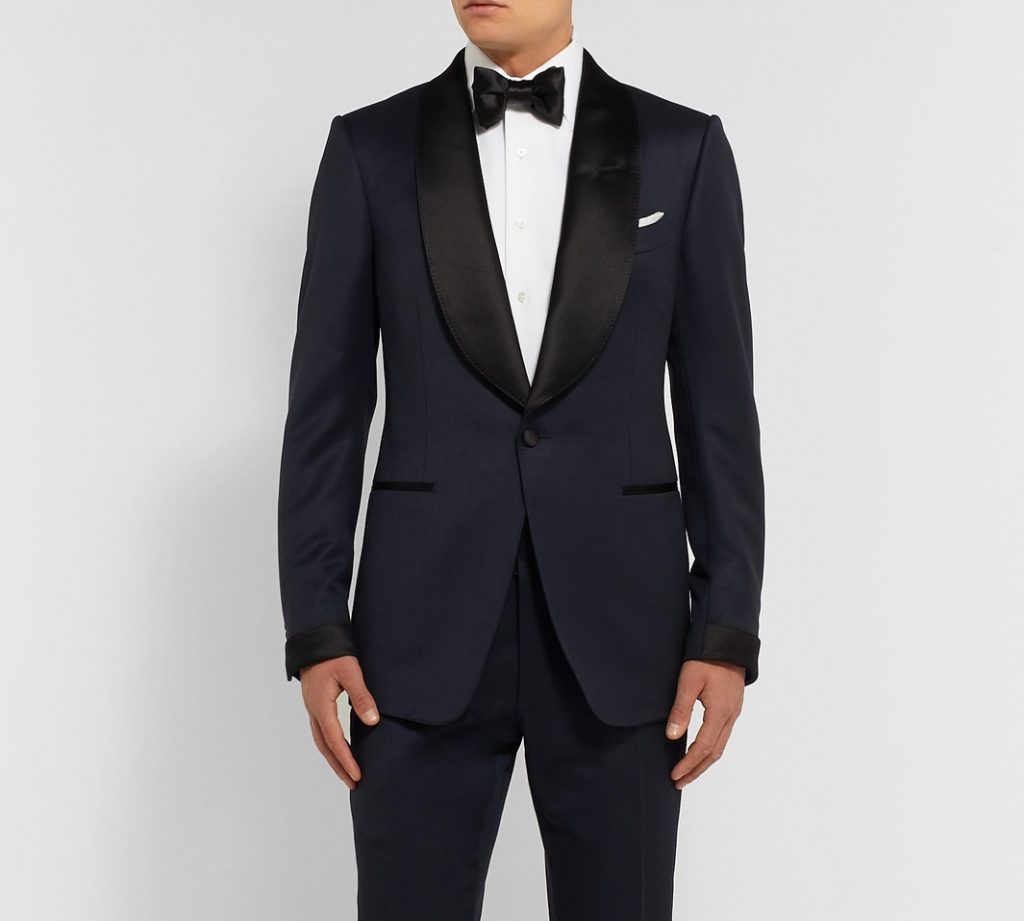 tom ford midnight blue dinner jacket tuxedo
