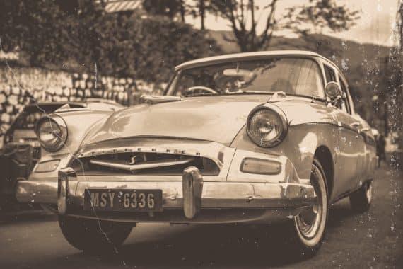 vintage retro bil