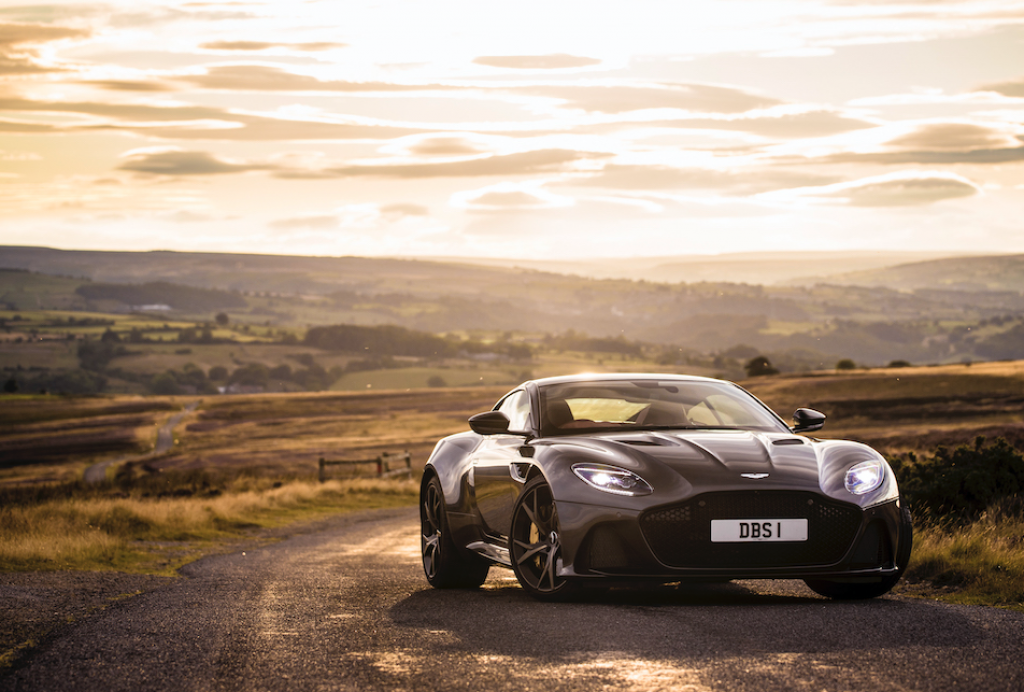 Aston Martin DBS Superleggera James Bond movie