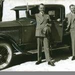 Bilder från 1930- och 1950-talets herrmode