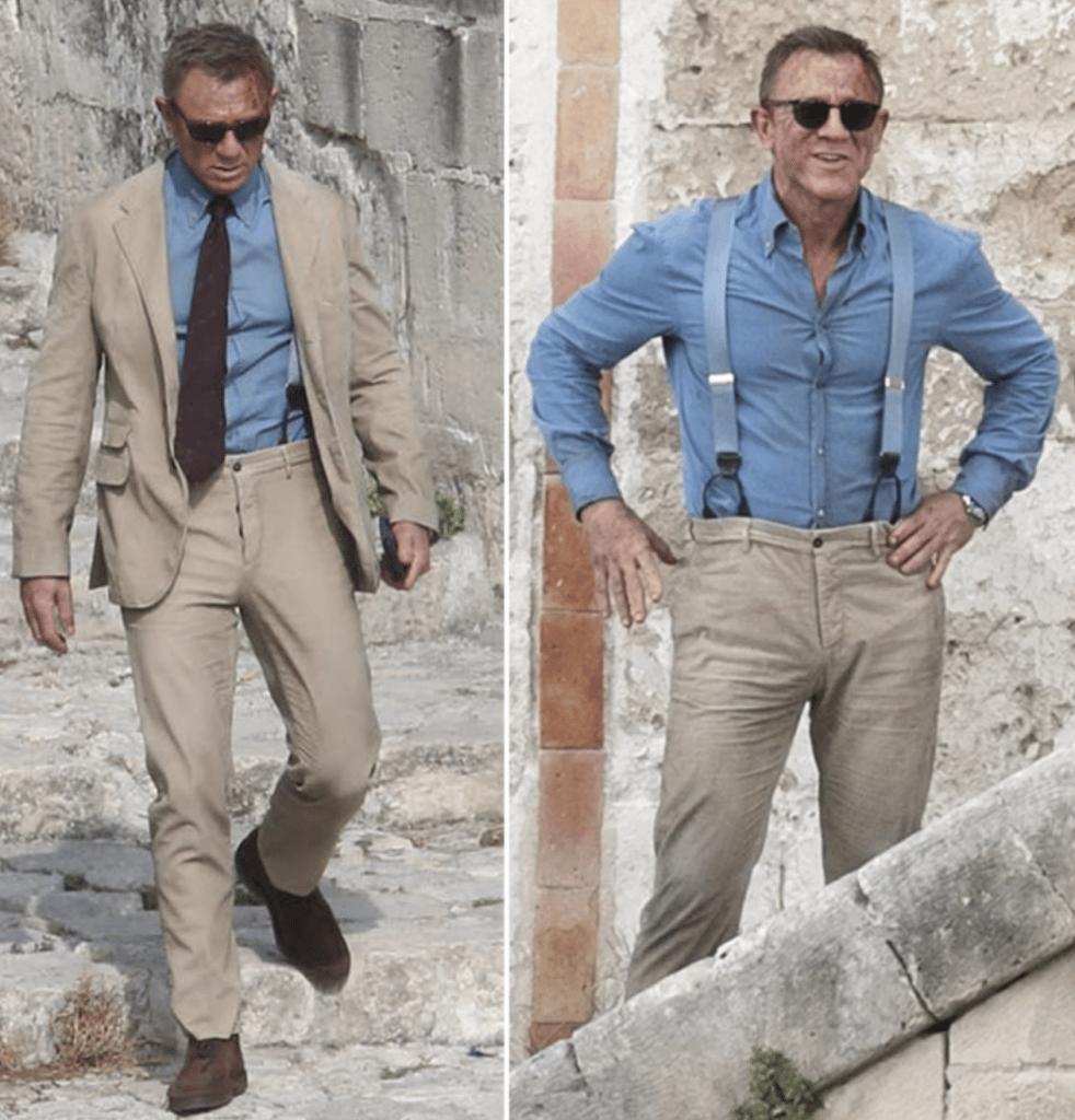 no time to die kostym märken James Bond