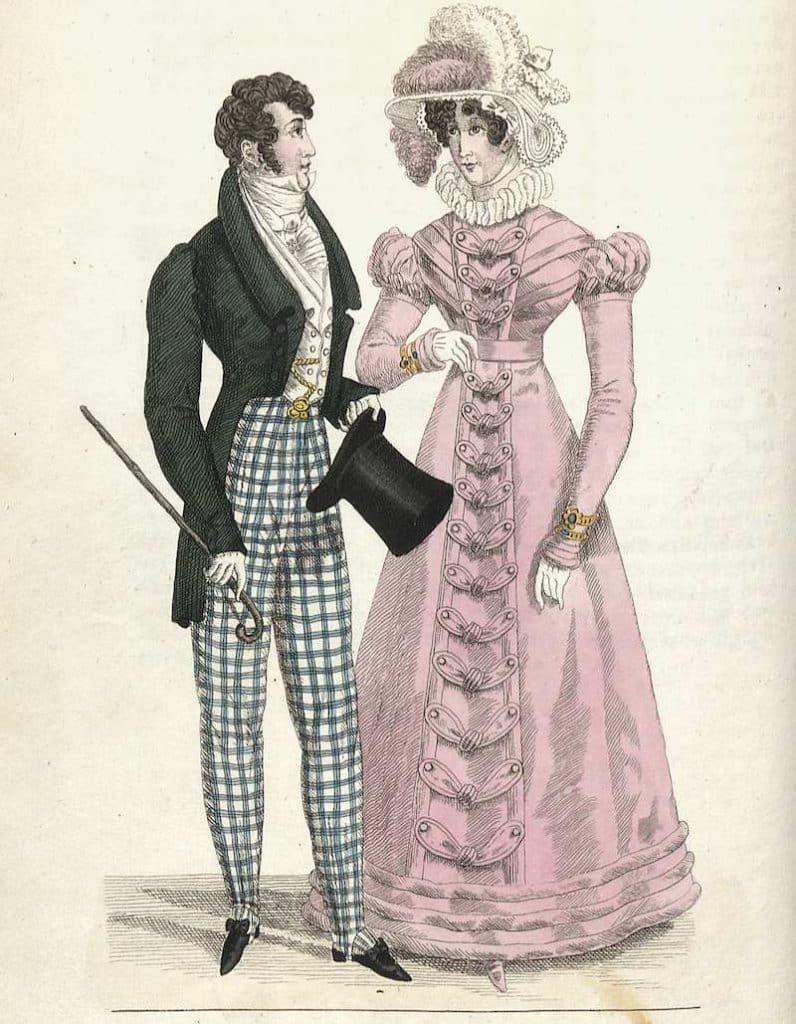 modet på 1800-talet