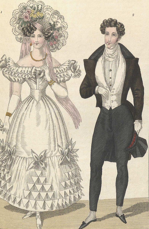 herr- och dammode 1800-tal
