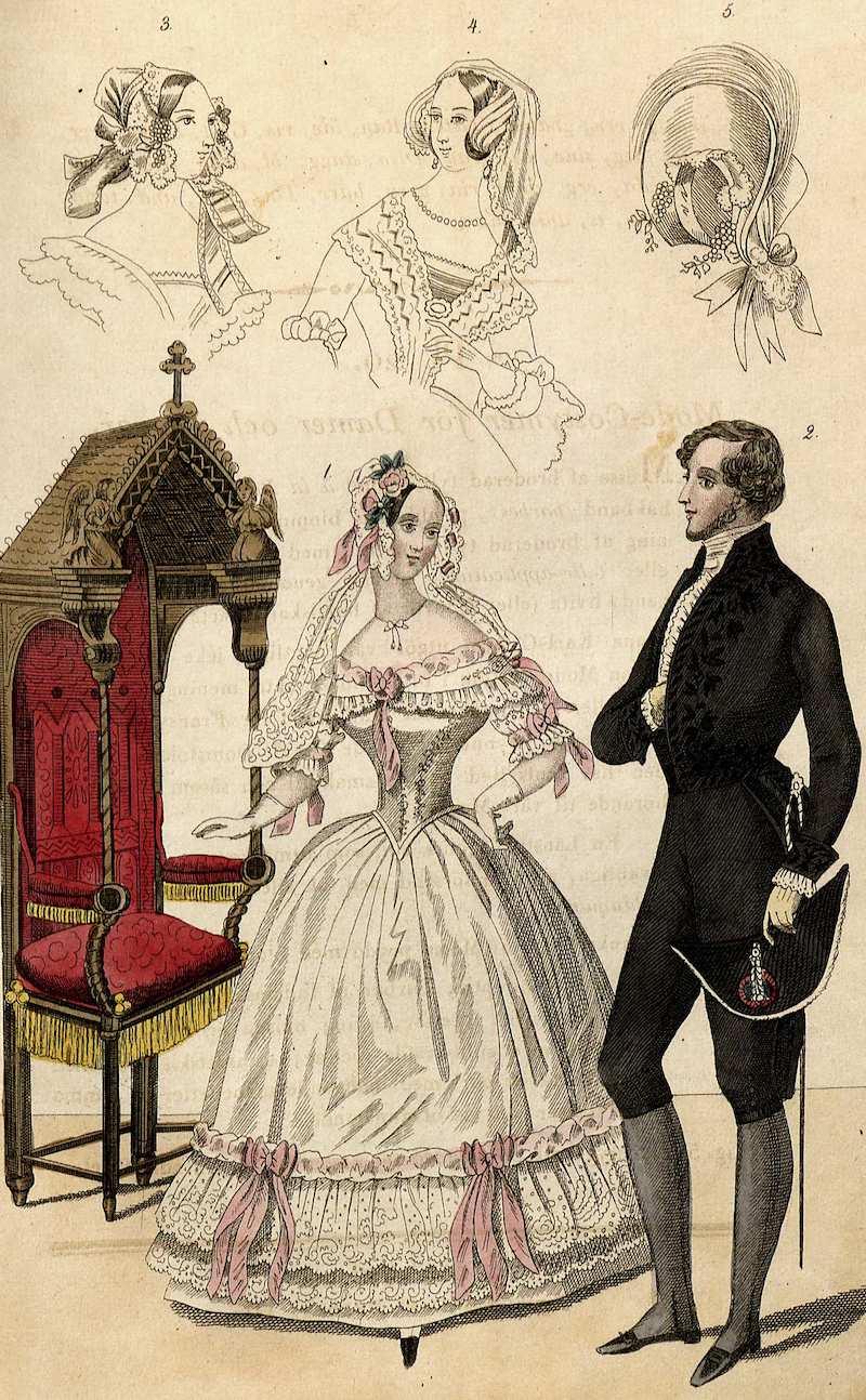 herrmodet 1800-tal