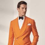 Vårens trendfärg inom herrmodet - Orange