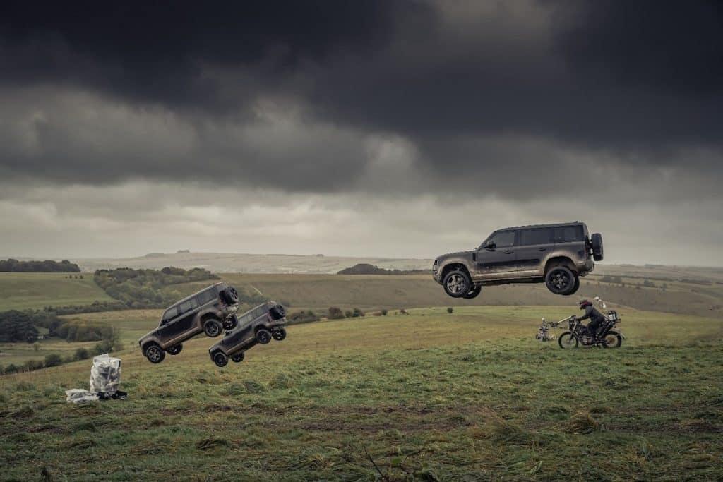 Land Rover Defender i James Bond-filmen No Time To Die