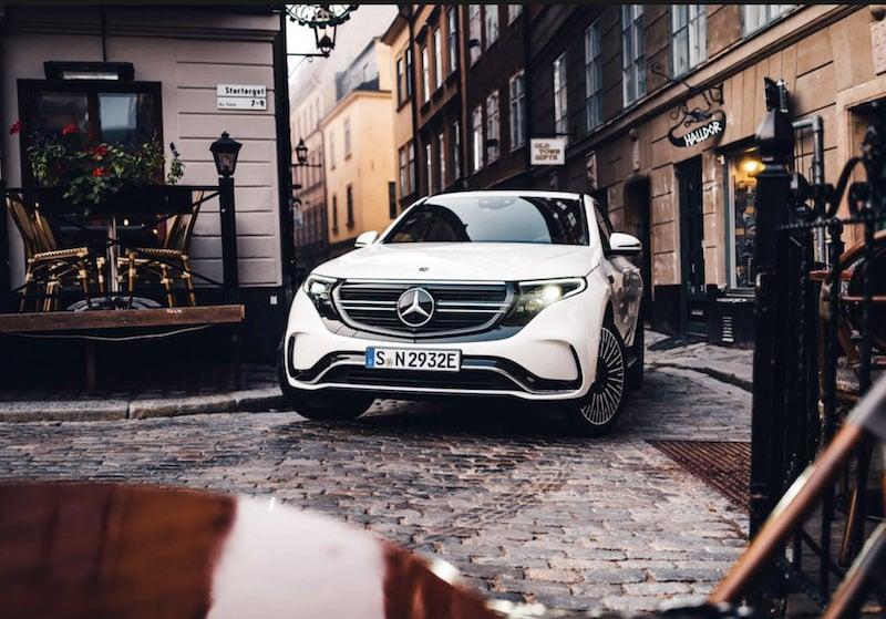 elbil Mercedes stockholm