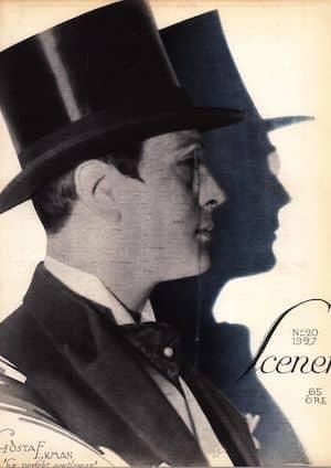 herrmode tidning 1920-tal