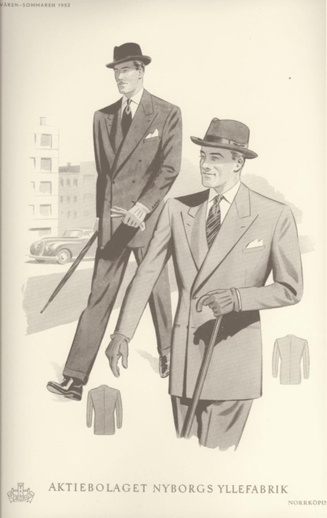 1950-talets herrmode