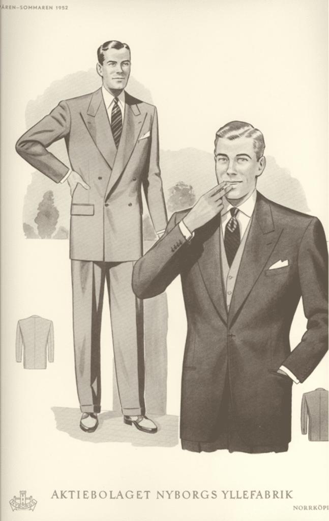 herrmode 1950-tal