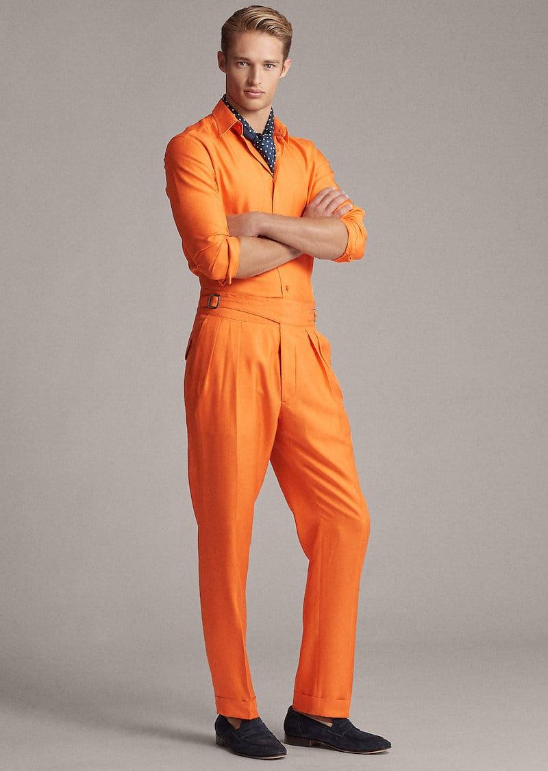 vårens och sommarens trendfärger 2020 orange