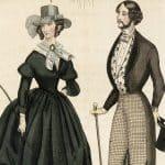 Sveriges första modetidning kom ut i början av 1800-talet