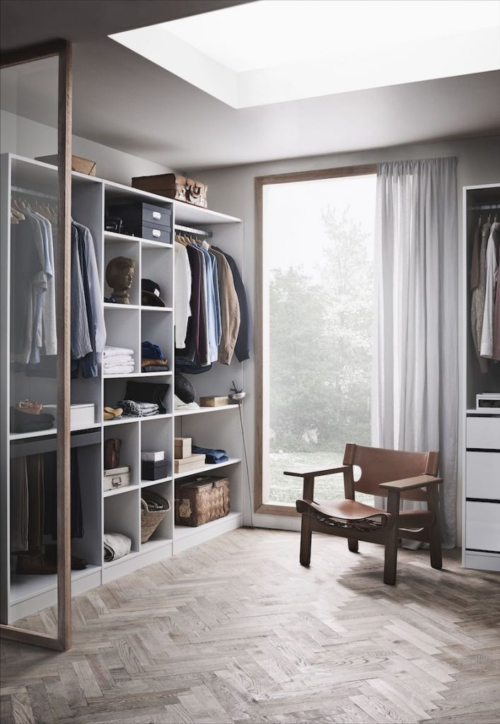 inspiration walk in closet