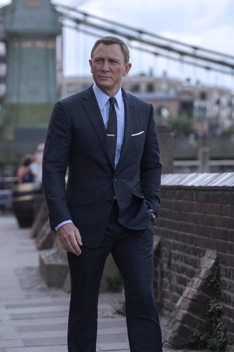 Daniel Craig, James Bond i Tom Ford i filmen No Time to Die