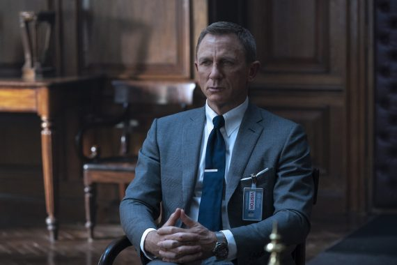 Daniel Craig in Tom Ford James Bond No Time to die