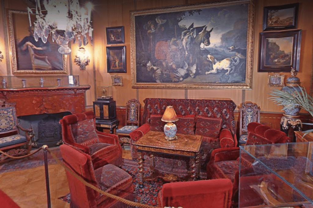 rökrummet hallwylska museet