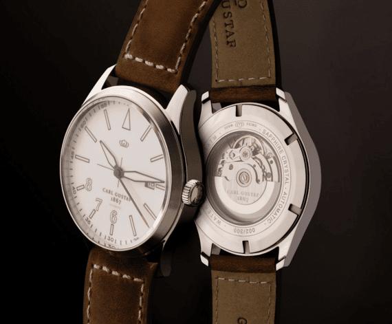 carl gustaf exklusivt svenskt klockmärke