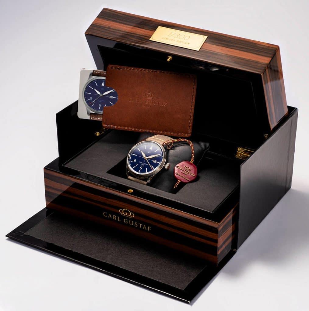 svenskt lyxmärke klockor
