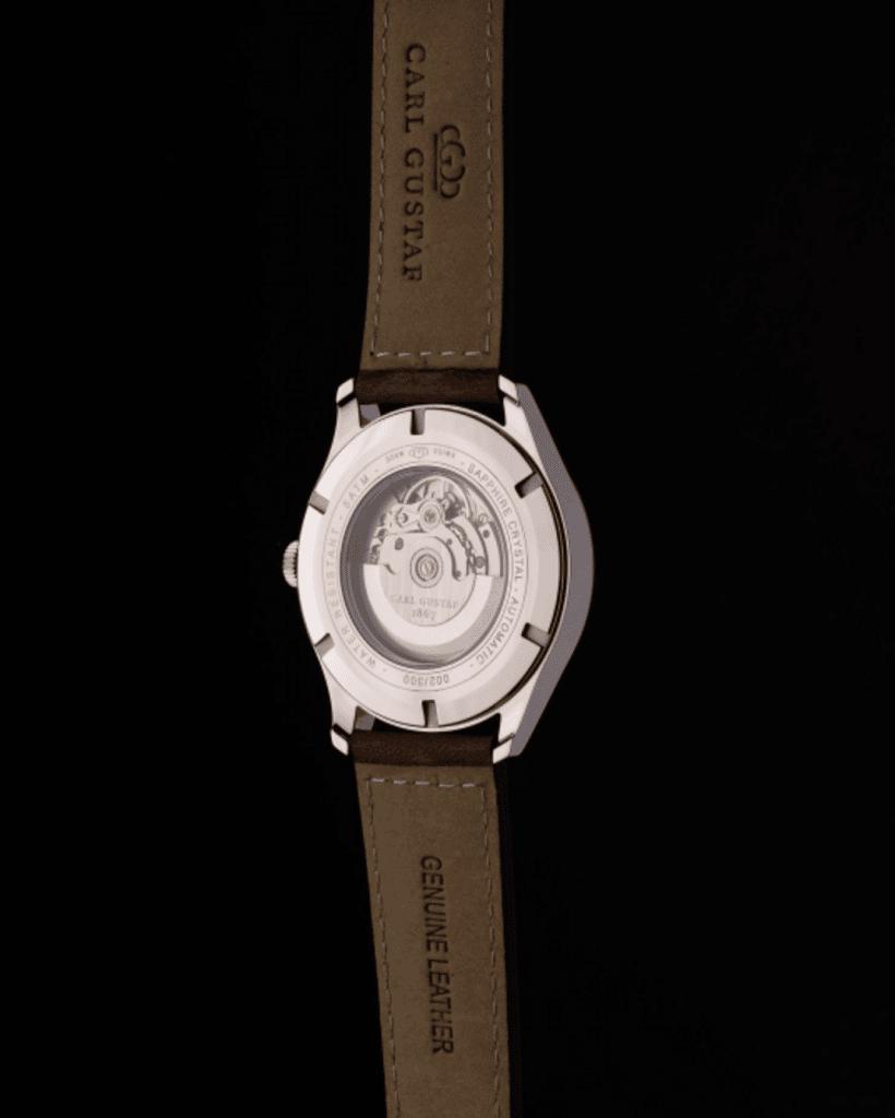 carl gustaf svenskt lyx klockmärke