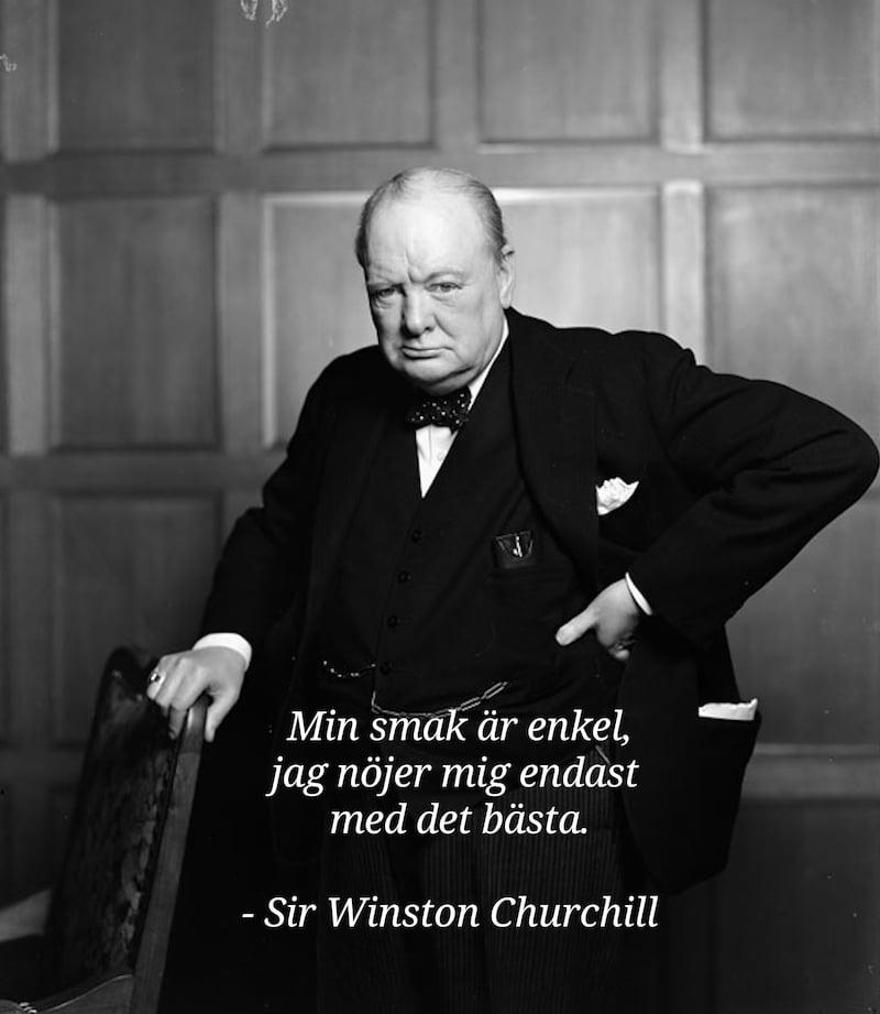 citat av winston churchill