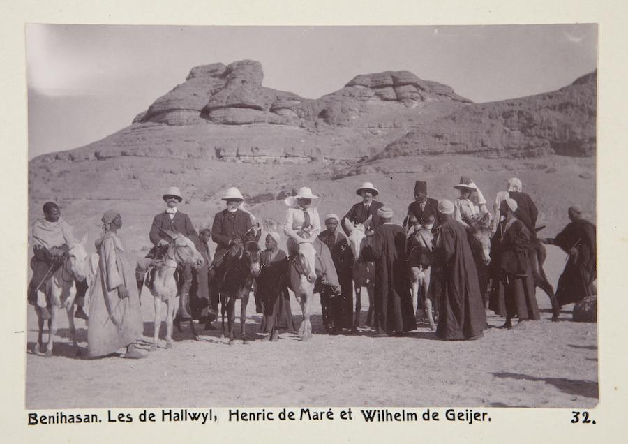 Ben Hasan i Egypten 1800-tal