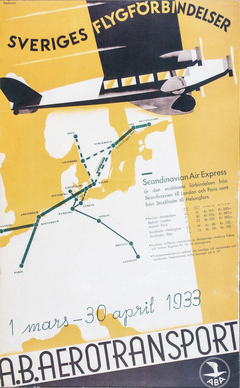 A.B. Aerotransport 1920-tal