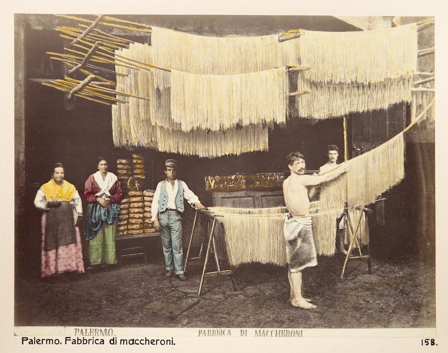 pastafabrik sicilien 1888